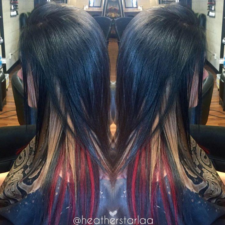 78 Best Hair Color Peekaboo Images On Pinterest Hair Color Hair
