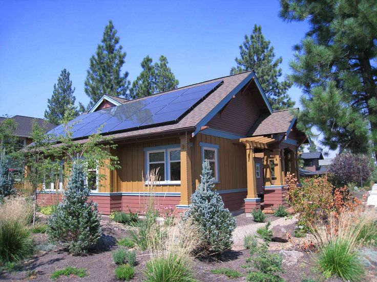 Net Zero Energy Home In Bend Oregon Northwestcrossing Green Greenbuilding