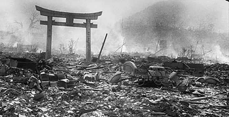The Aftermath of Hiroshima after Truman's order to release an atomic bomb on the city. This was just one of 2 bombings in Japan, the other being the bombing of Nagasaki, which were both caused by Japan not surrendering to USA's warnings, to show their power and not give up on their word, USA proceeded with the operation and left the city in flames and dust, killing many people in an instant and filling the area with toxic radiation that contributed to killing more people even after the…