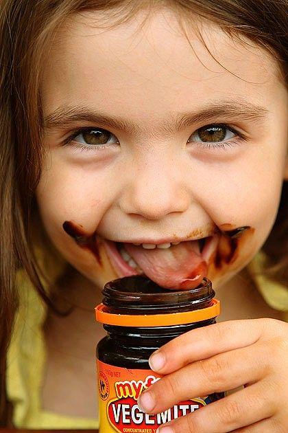 A Happy Little Vegemite. As Australian as...❤️