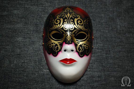 Venetian fiberglass mask - satin finish