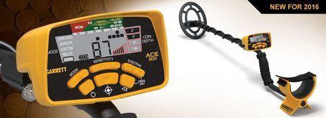 Garrett Ace 300 Metal Detector | River Team Six Metal Detectors