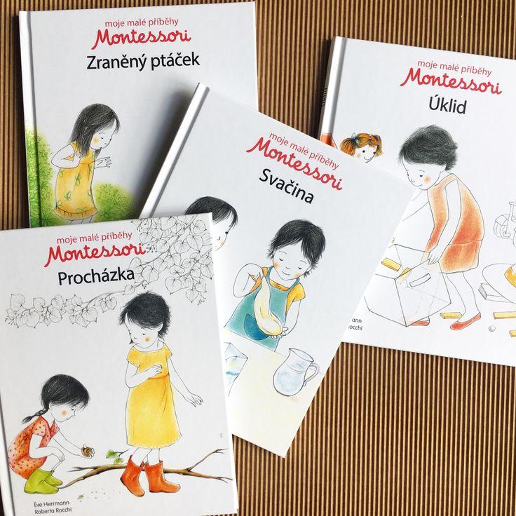 Jednoduché příběhy, v souladu s pedagogikou Montessori, s krásnými ilustracemi vás i vaše děti povzbudí k povídání!