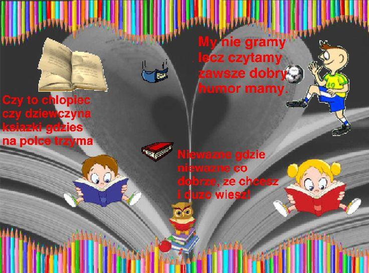 My swój plakat zachęcający do czytania stworzyliśmy w programie SCRATCH