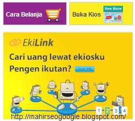 Afiliasi ekilink adalah program Cari uang http://mahirseogoogle.blogspot.com/2013/07/cari-uang-lewat-ekioskucom.html adalah di antara cara tercepat serta termurah ( yang sangat gampang ) untuk melacak duit dengan online di internet .