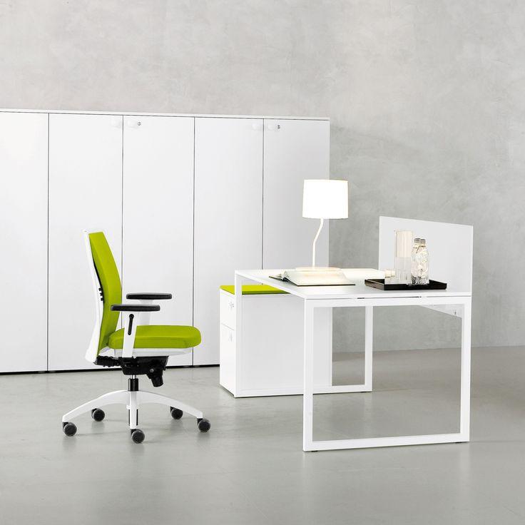 white desk office. Cleaner Styling Across The Office - White Desks For A Brighter Desk