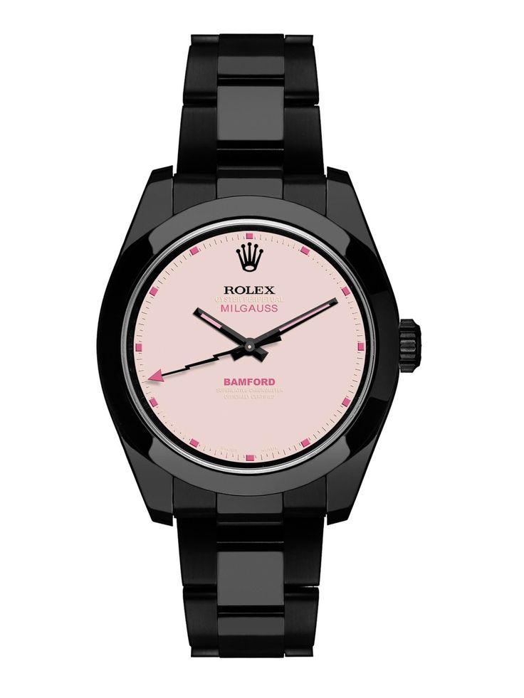 Bamford x The Webster pink dial Milgauss