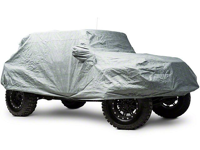 Smittybilt Full Climate Jeep Cover 07 16 Wrangler JK 4 Door