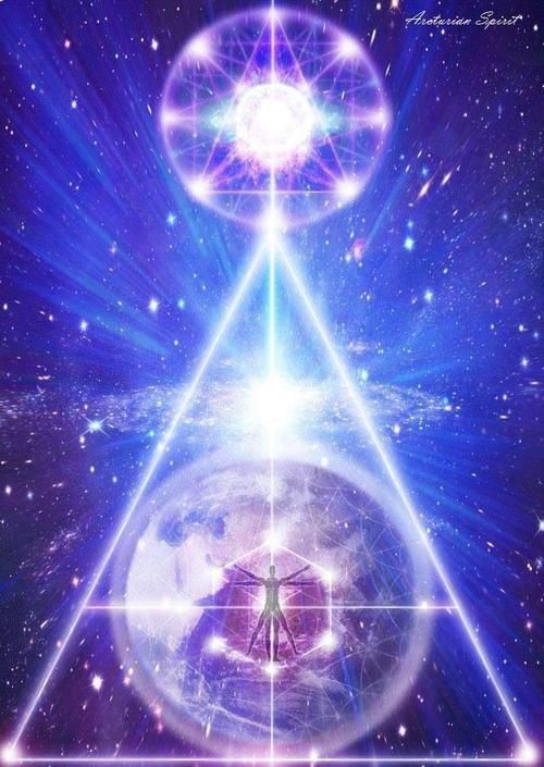 """""""Ascension is not just a personal experience. It is also a human consciousness experience and a planetary experience. The triad of self, human consciousness, and the planet creates a triangle. Triangles are geometric patterns that create stargates when activated."""" 
