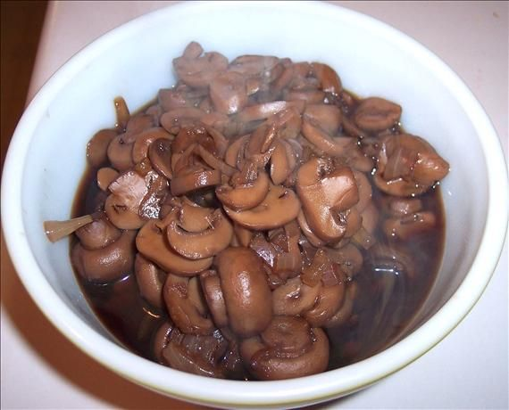 Outback Steakhouse Sauteed Mushrooms from Food.com: I LOVE going to the Outback and ordering this side with my steak. I could eat these alone! This is a copycat recipe; one I have had saved but have yet to try. But if this recipe is a true copycat of what I have eaten at Outback, you will not be sorry!