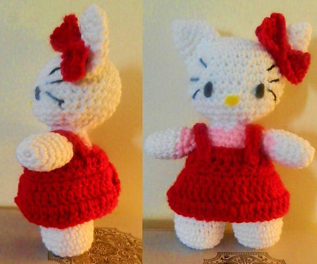 Ravelry: Hello kitty with free pattern pattern by Ashley chamberlain
