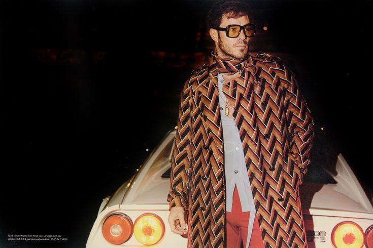 Man of the World Enjoys a 70s Style Moment with Paul Sculfor