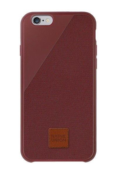De ultieme bescherming: de CLIC 360 van Native Union voor iPhone 6 Plus in wijnrood. #iPhone6Plus #case #fall