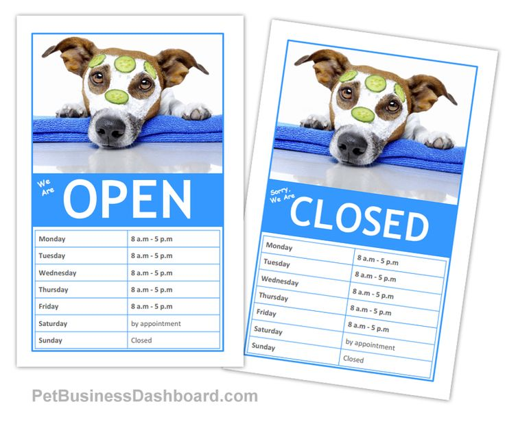 Dog Grooming Business Templates (With images) Dog
