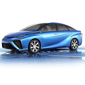 How Toyota Will Be First With a Fuel-Cell Car - Toyota says it's made several advances to hydrogen fuel cells that will make them significantly cheaper, and will allow the company to sell a car using the low-pollution technology in 2015—years before its competitors. | MIT Technology Review