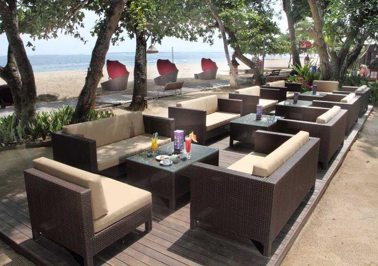 Sofa Bamboo Beach Bar