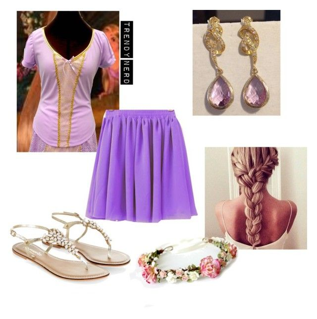 """""""Rapunzel Inspired Outfit"""" by trendy-nerd on Polyvore"""
