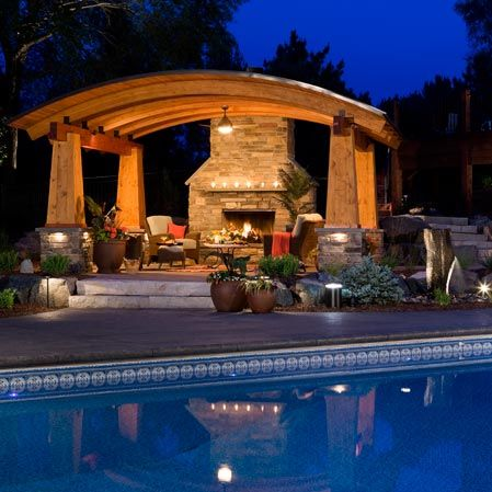 Landscaping contractor in Minneapolis Minnesota – swimming pool landscapes