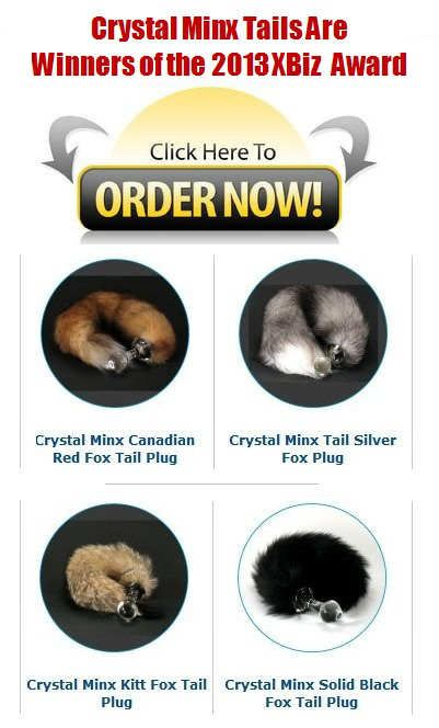 Fox tail butt plug made in USA! Top quality!