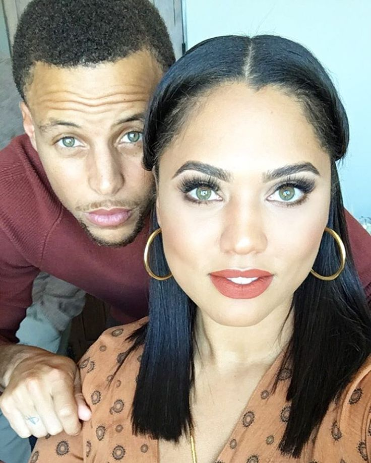 Golden Love Warriors: Ayesha And Steph Curry Cutest Moments. Check out more of them on Madamenoire.
