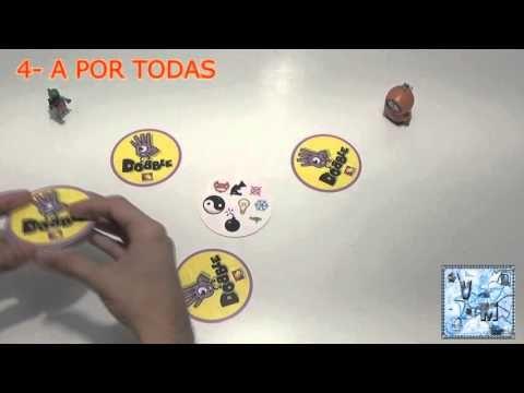 Dobble - Juego de mesa - Reseña/aprende a jugar - YouTube