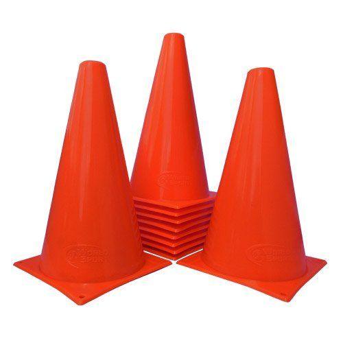 """Duratrax Kwik Trak Orange Racing Cones, 6.5"""" (6-Piece)"""