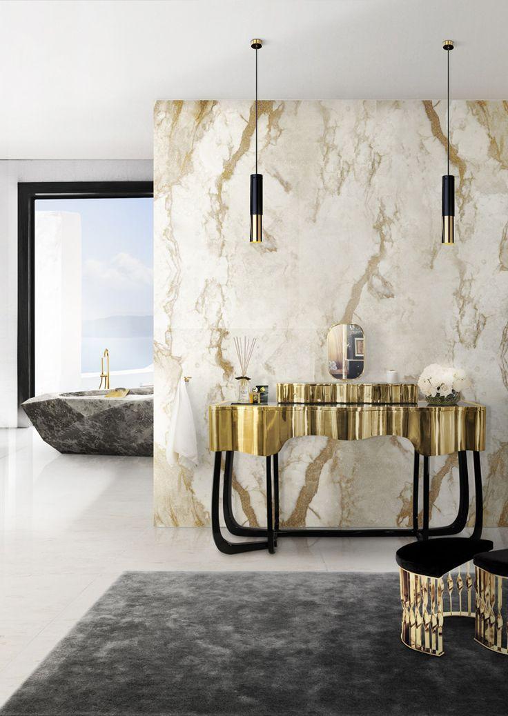 Gallery One Bathroom Modern Minimalist Hanging Light Marble Bathroom Wall Modern Minimalist Sink Cabinet Marble Bathroom Design What is Needed to Inspire of Luxury