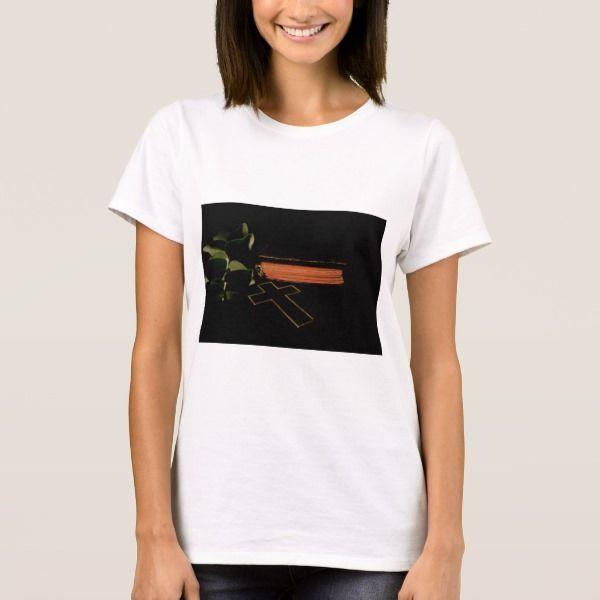 Cross and bible T-Shirt #christmas #womensfashion #xmas #womensclothing