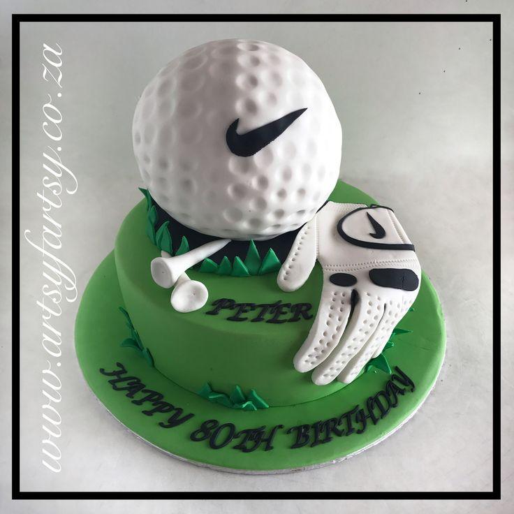 Golf Ball Cake #golfballcake