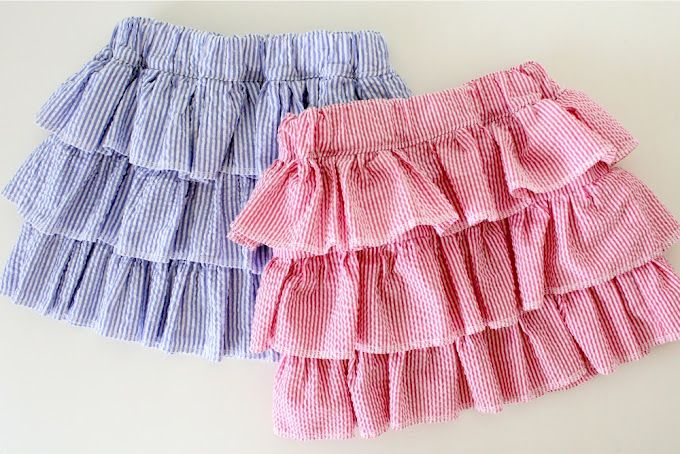 TUTORIAL: the Layered Skirt~~~~  this lady knows her stuff!  I love her tutorials!