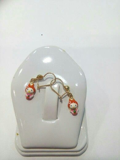 Anting anak anting bayi My Melody Kelinci mas kuning 70%