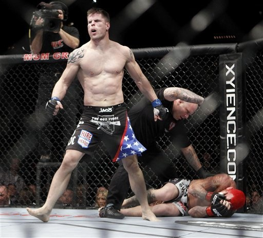 Brian Stann knocks out Chris Leben in one of the biggest wins of his career.