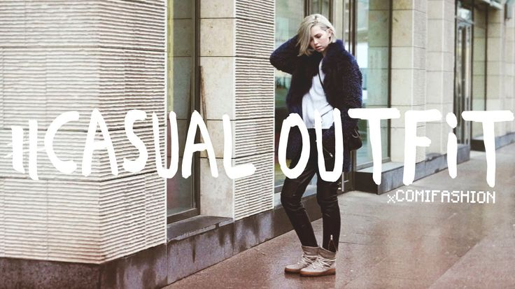 IT'S COLD OUTSIDE - casual and comfortable OUTFIT | Удобный образ на каж...