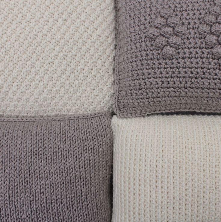 Kussens breien en haken   draadenpapier #pillow #crochet #knit