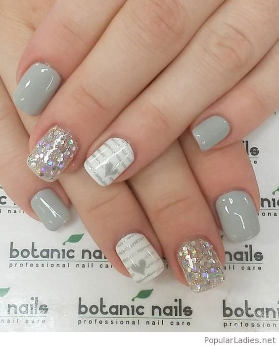 grey-gel-nails-with-glitter-and-hearts