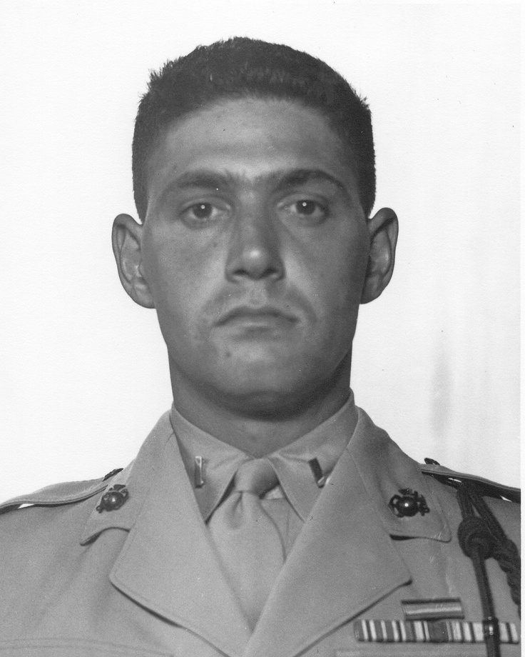 First Lieutenant Baldomero Lopez, US Marine Corps Medal of Honor recipient Battle of Inchon, Korea September 15, 1950.