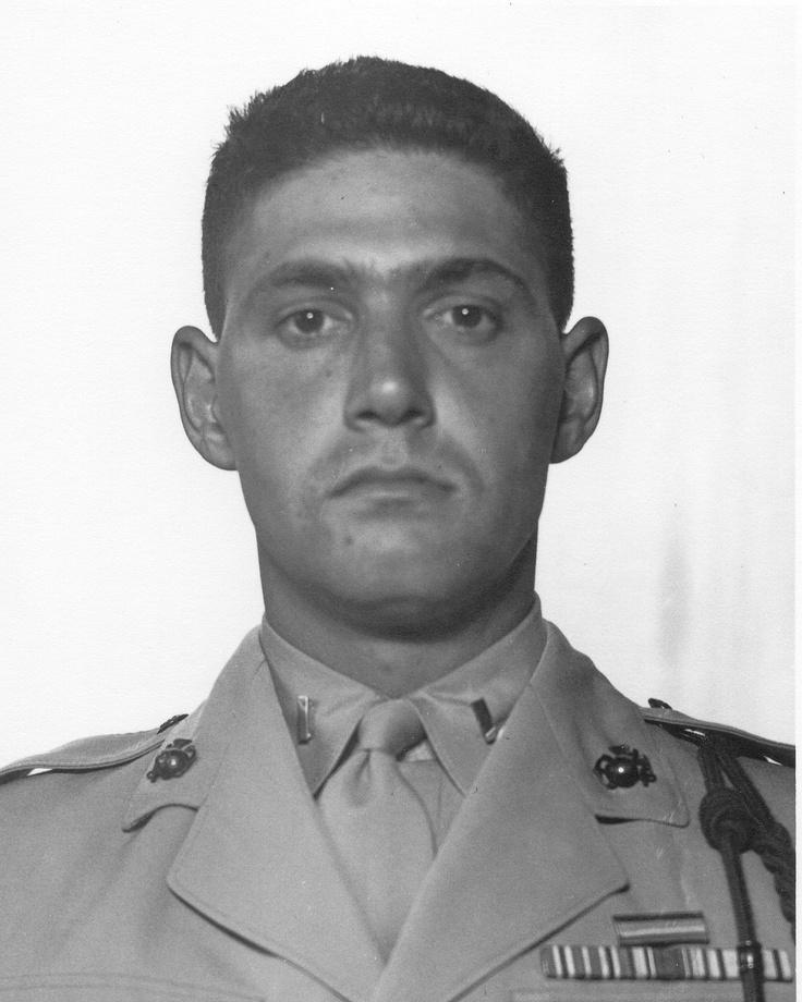 First Lieutenant Baldomero Lopez, US Marine Corps Medal of Honor recipient Battle of Inchon, Korea September 15, 1950.
