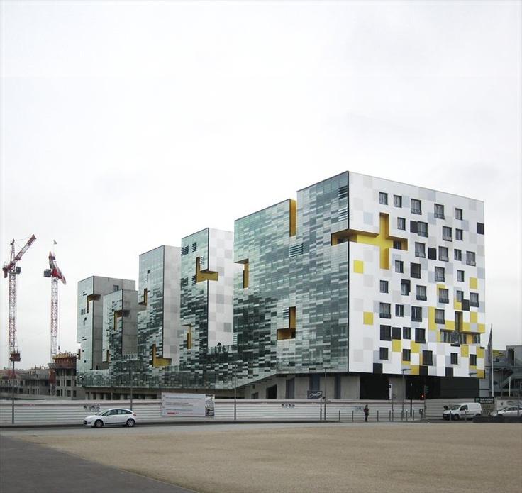 SEINE ARCHE - Nanterre | França | X-TU architects