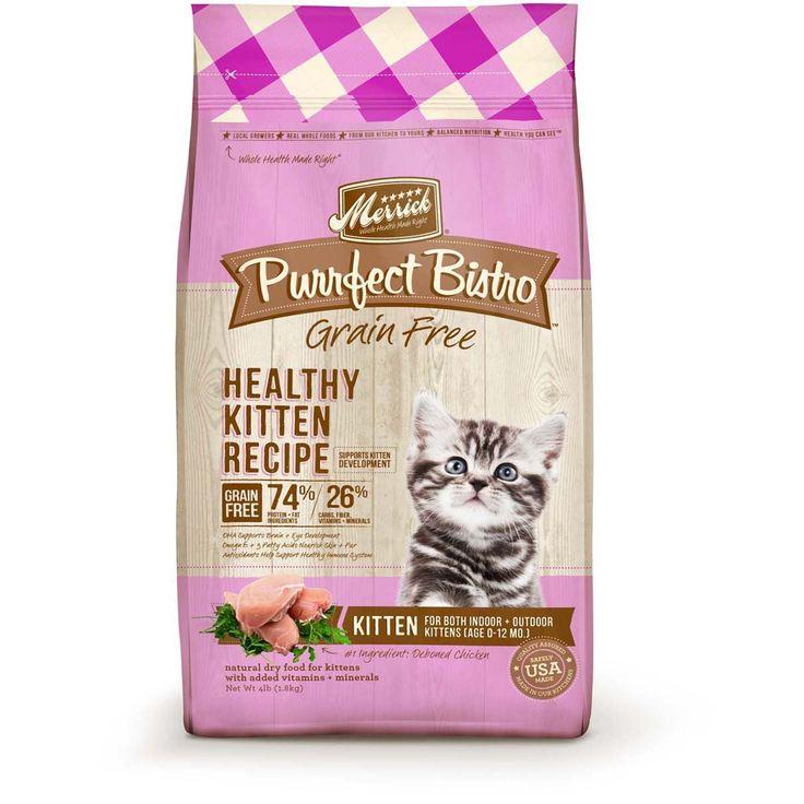 Merrick Purrfect Bistro Grain Free Dry Cat Food  Lbs