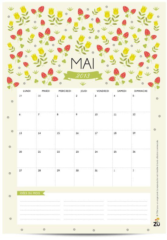 Diy Wall Calendar Organizer : Calendrier diy mai beautiful calendar and