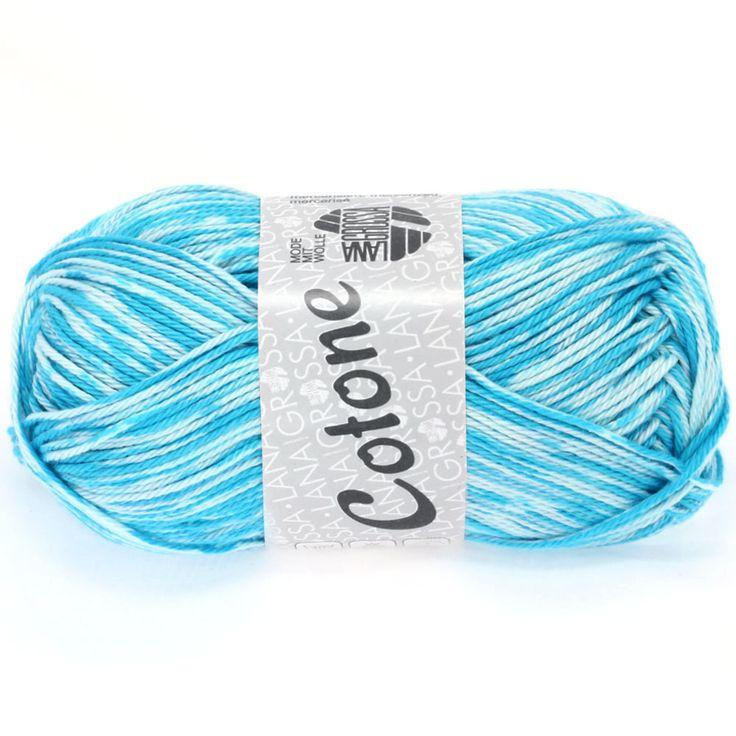 COTONE print 401-turquoise / white | EAN: 4033493151528
