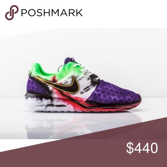 "Nike Roshe Run's (Custom) These are the new ""Joker Roshe""                        Delivery 5-10 Weeks Nike Shoes Sneakers"
