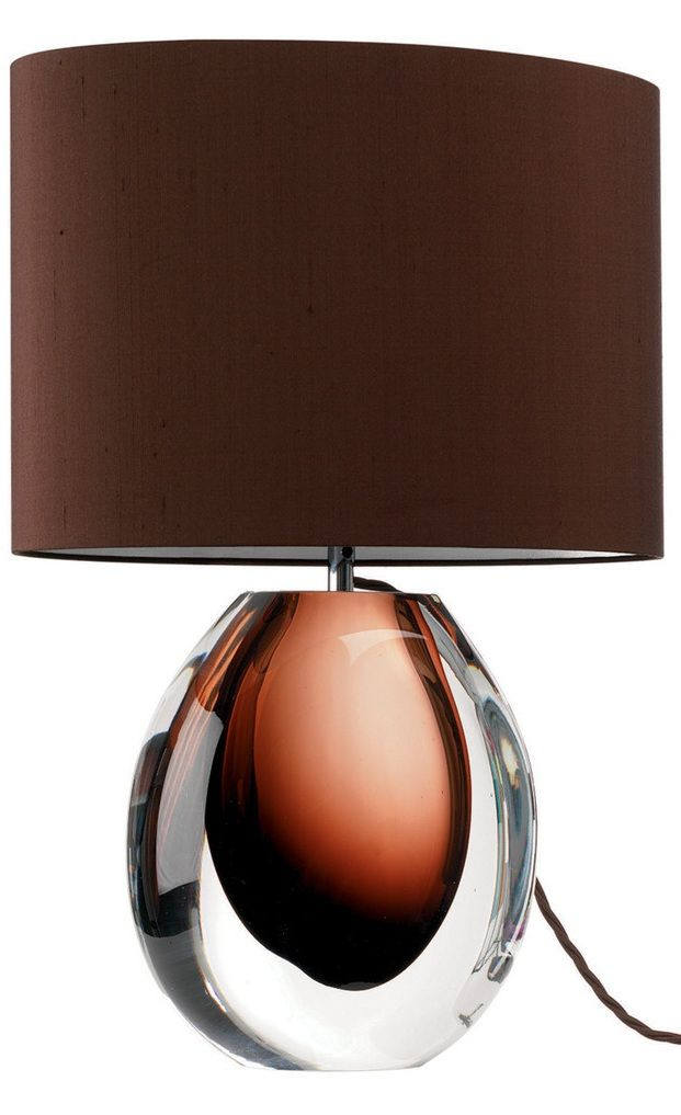 13 best Amber Lamps images on Pinterest Glass table lamps - glass table lamps for living room