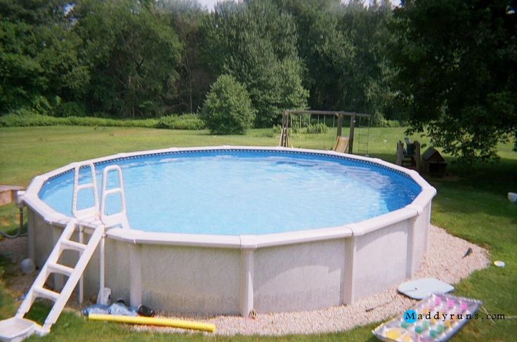 1000 ideas about above ground pool ladders on pinterest Above ground pool installation ideas
