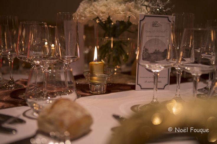 Décoration Mariage Venise en Hiver - Design : Dessine moi une étoile et Un Lys dans l'atelier - Photographies : Instants de vie - Fleurs : Frédéric Bertin - Domaine de Grand'Maisons