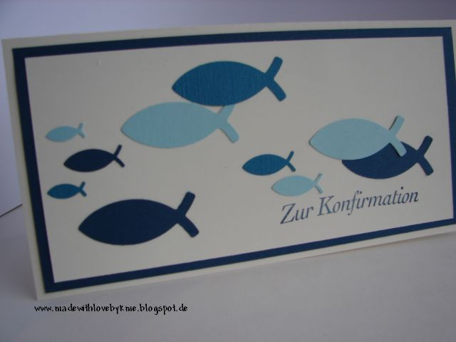 made with love by kme: Zur Konfirmation