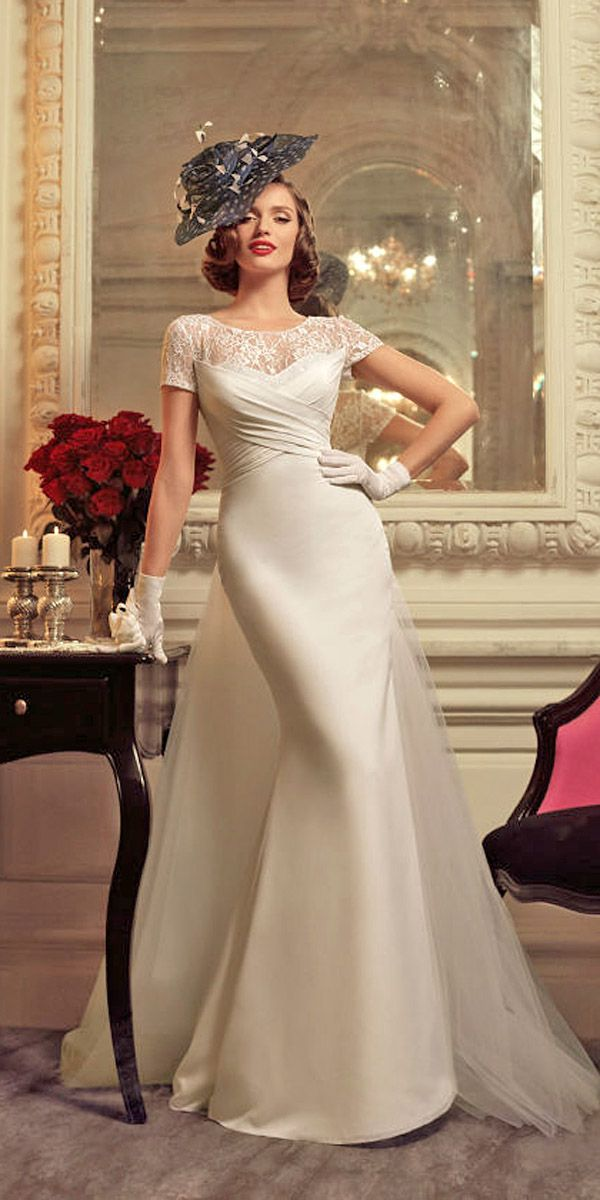 short retro wedding dresses uk%0A     s Bridal Gowns With A Retro Feel