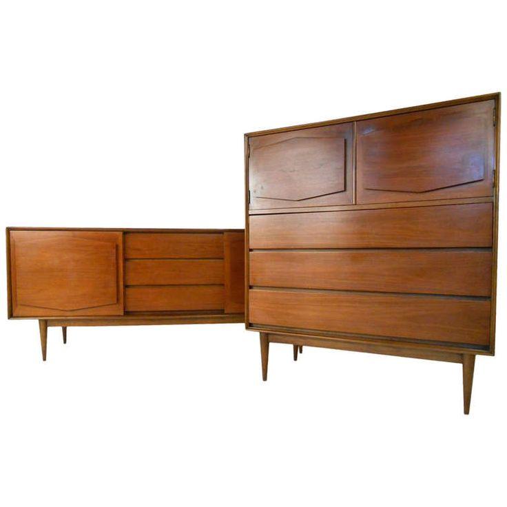 R Way Mid Century Modern Dressers