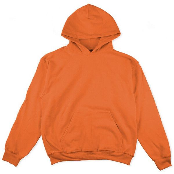 Oversized Hoodies (£30) ❤ liked on Polyvore featuring tops, hoodies, outerwear, sweaters, hooded pullover, orange hoodies, orange top, oversized tops and oversized hoodie