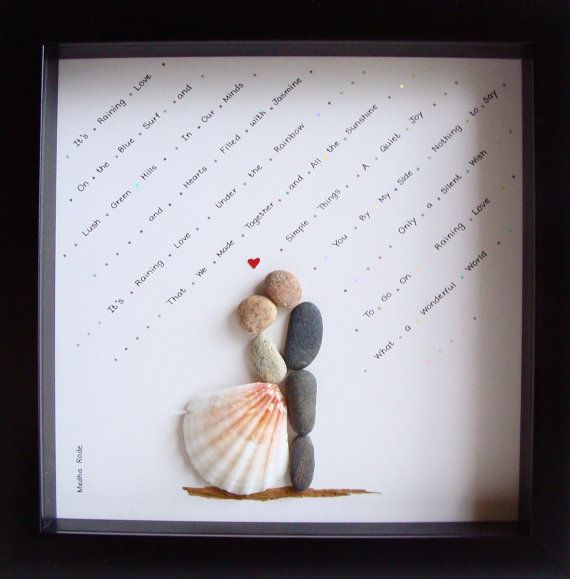 Unique WEDDING Gift-Customized Wedding Gift-Pebble by MedhaRode